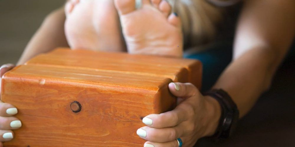 Bloques de yoga madera