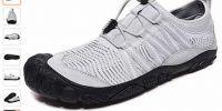 FITORY Zapatilla de Barefoot Mujeres Hombres Seco Rápido Zapatos de Deportes Acuaticos Trail Running Exterior Respirable Zapatos de Agua Unisex-Adulto