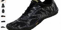 SAGUARO Barefoot Zapatillas de Trail Running Minimalistas Zapatillas de Deporte Exterior Interior Zapatos de Deportes